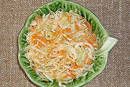 Krautsalat mit Karotten 17