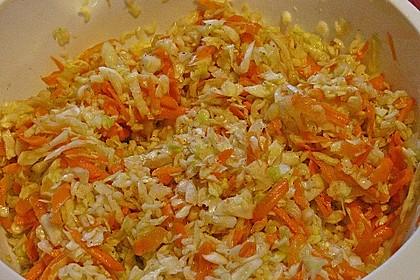 Krautsalat mit Karotten 11