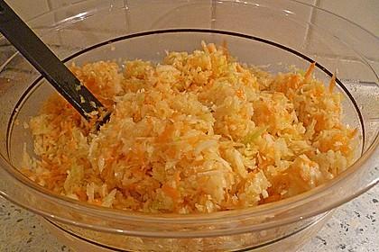Krautsalat mit Karotten 5