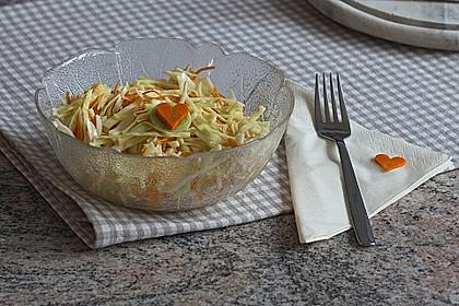 Krautsalat mit Karotten 7
