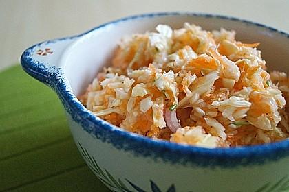 Krautsalat mit Karotten 1