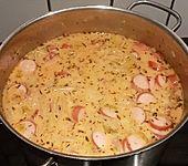Spaghetti - Würstchen - Topf