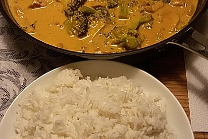 Hähnchencurry Low Carb 4
