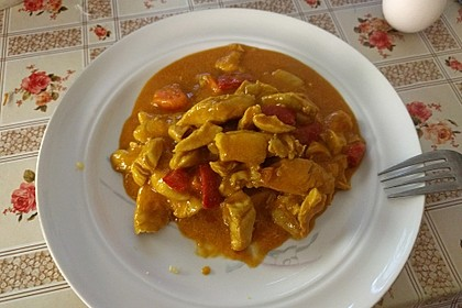 Hähnchencurry Low Carb 9
