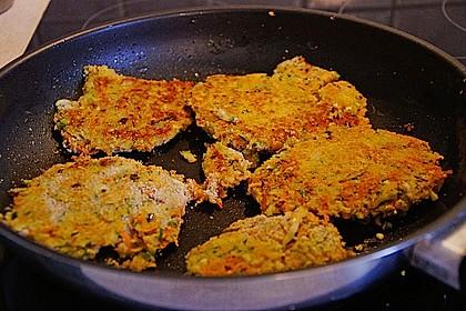 Möhren - Zucchini - Bratlinge 16