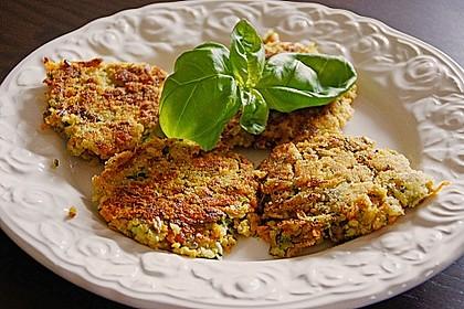 Möhren - Zucchini - Bratlinge 1
