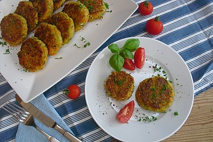 Möhren - Zucchini - Bratlinge