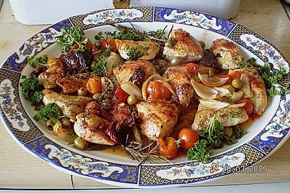 Hühnerbrust italienisch