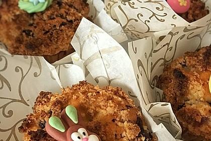 Kirsch - Muffins mit Kokosstreusel 2