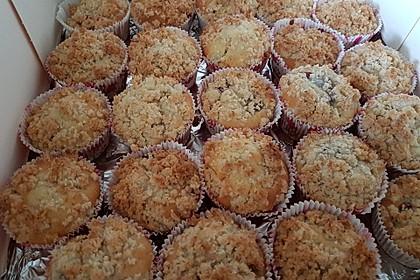Kirsch - Muffins mit Kokosstreusel 23