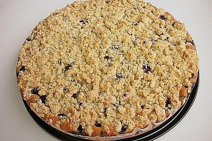 Kirsch - Muffins mit Kokosstreusel 18