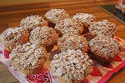 Kirsch - Muffins mit Kokosstreusel 3
