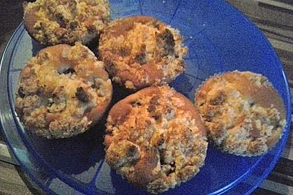 Kirsch - Muffins mit Kokosstreusel 26
