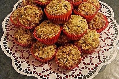 Kirsch - Muffins mit Kokosstreusel 12