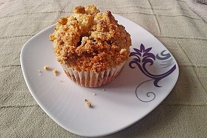 Kirsch - Muffins mit Kokosstreusel 14