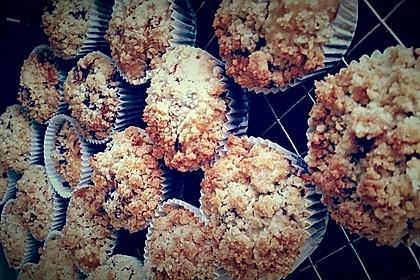 Kirsch - Muffins mit Kokosstreusel 6