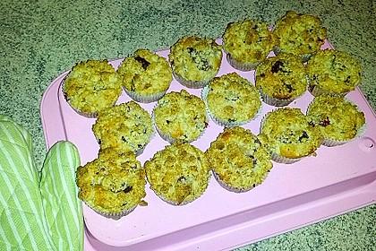 Kirsch - Muffins mit Kokosstreusel 21
