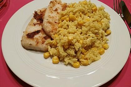 Reis mit Mais 2
