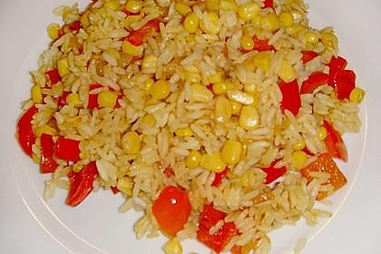 Reis mit Mais 12