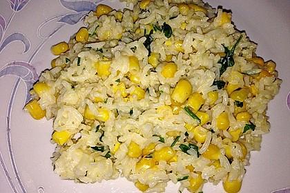 Reis mit Mais 3