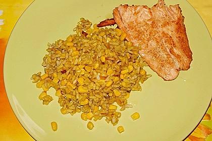 Reis mit Mais 6