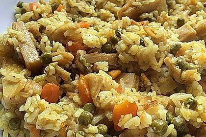 Reis mit Mais 5
