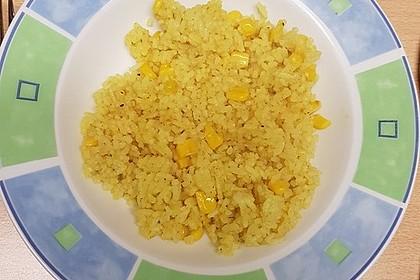 Reis mit Mais 4