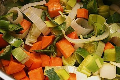 Süßkartoffel - Lauchsuppe 14