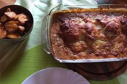 Gefüllte Hähnchenröllchen mit Pesto, Feta und Schinken  à la Toscana 19