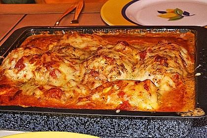 Gefüllte Hähnchenröllchen mit Pesto, Feta und Schinken  à la Toscana 18