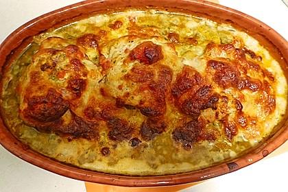 Gefüllte Hähnchenröllchen mit Pesto, Feta und Schinken  à la Toscana 22