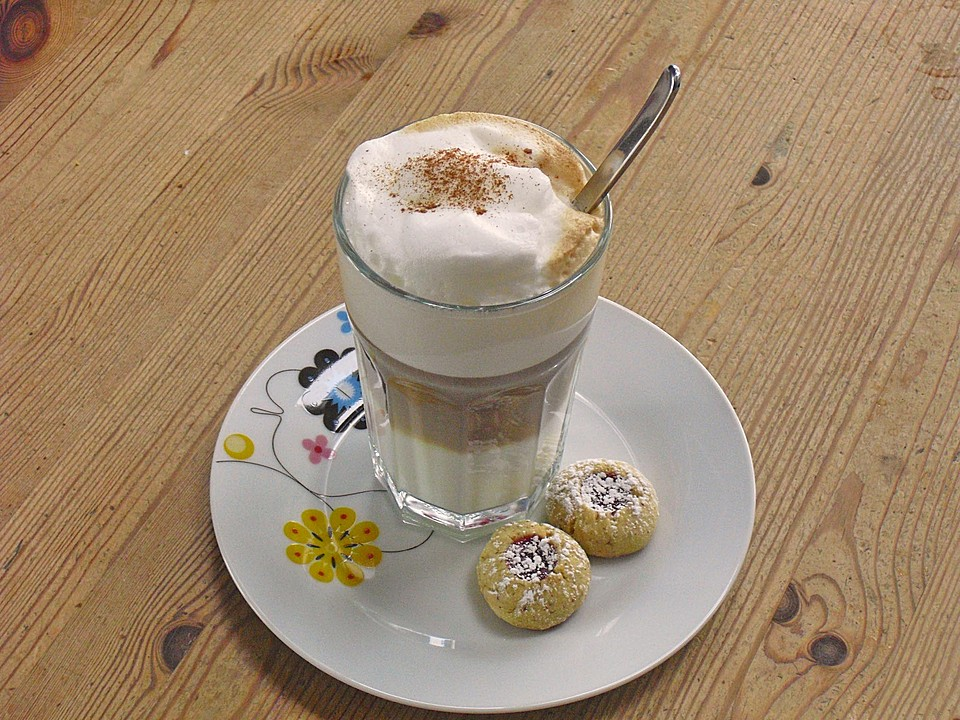 latte macchiato rezept mit bild von fraucolumbus. Black Bedroom Furniture Sets. Home Design Ideas