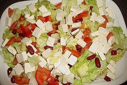Kidneybohnensalat mit Feta