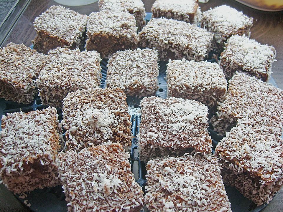Jugoslawischer kuchen mit kokos