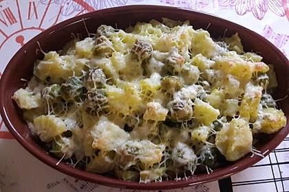 Schneller Rosenkohl - Kartoffel - Auflauf 1