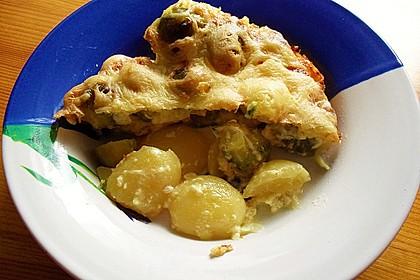 Schneller Rosenkohl - Kartoffel - Auflauf