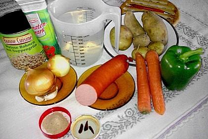 Serbische Bohnensuppe 3