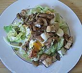 Geflügelsalat mit Senfsoße