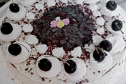 Heidelbeer - Pudding - Kuchen 2