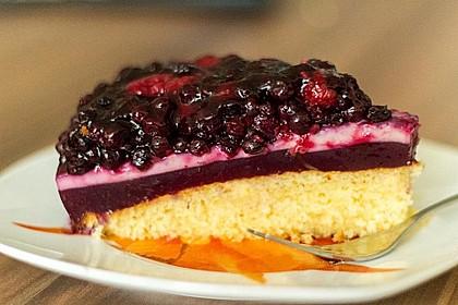 Heidelbeer - Pudding - Kuchen 0