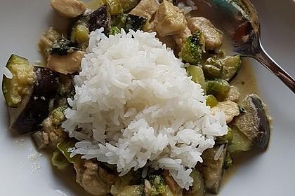 Thai Green Curry Chicken 8