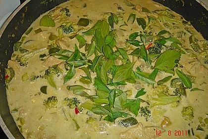 Thai Green Curry Chicken 9