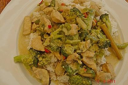 Thai Green Curry Chicken 10