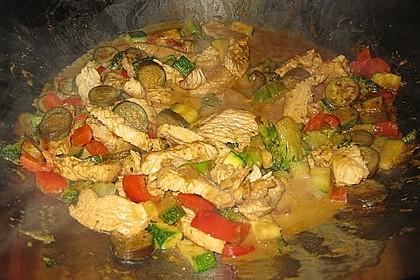 Thai Green Curry Chicken 14