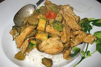 Thai Green Curry Chicken 12