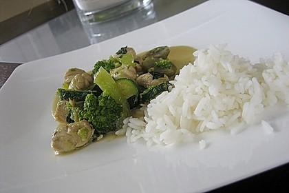 Thai Green Curry Chicken 5