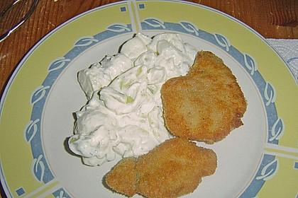 Kartoffelsalat mit grünem Spargel 2