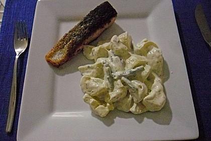 Kartoffelsalat mit grünem Spargel 4