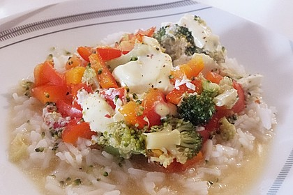 Bunte Tomaten - Reis - Pfanne 4