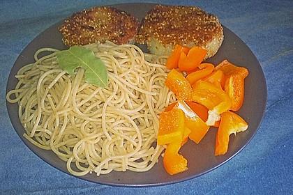 Kohlrabi paniert/gebacken mit Kräutersauce 13